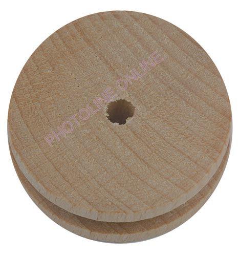 Bükk-kerék kötélhelyes 60x15 mm, 4 mm furat, 1 pár