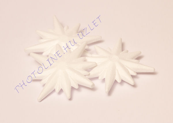Hungarocell függődísz, szélrózsa, 10 cm