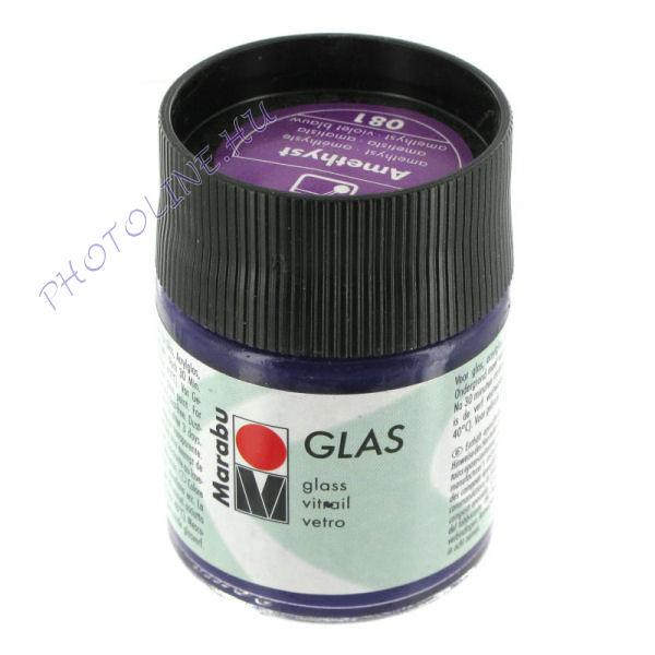 Marabu Glas vízbázisú festék, AMETISZT 50ml
