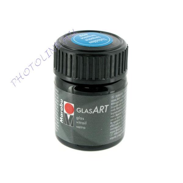 Marabu GlasART oldószeres festék, TÜRKIZ 15ml