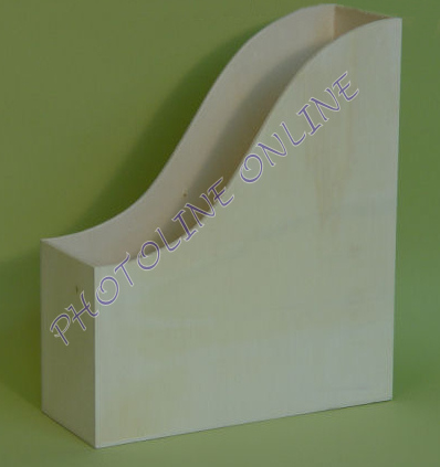 Fa irattartó papucs A4 iratokhoz