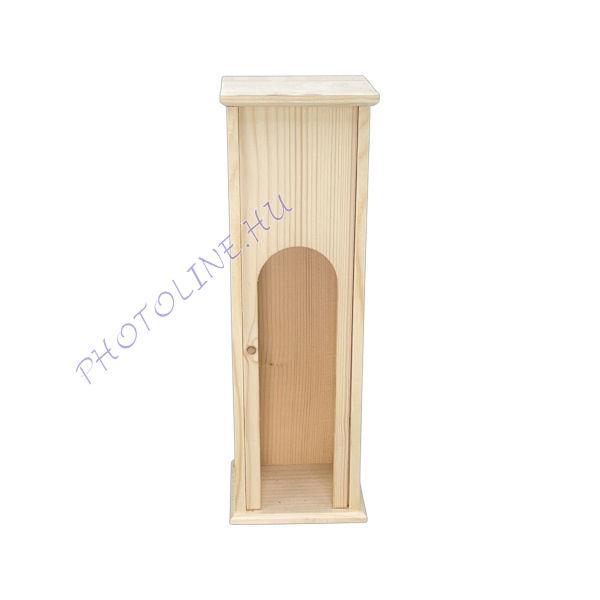 Bortartó, csúsztatható teli tetővel (35x11x10 cm)