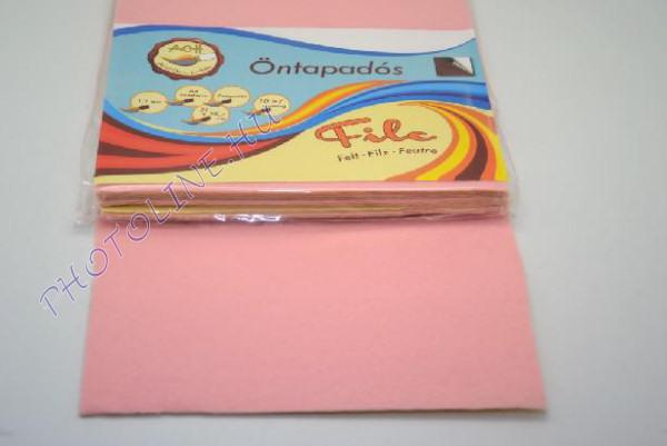 Filclap A4 öntapadós, halvány rózsaszín