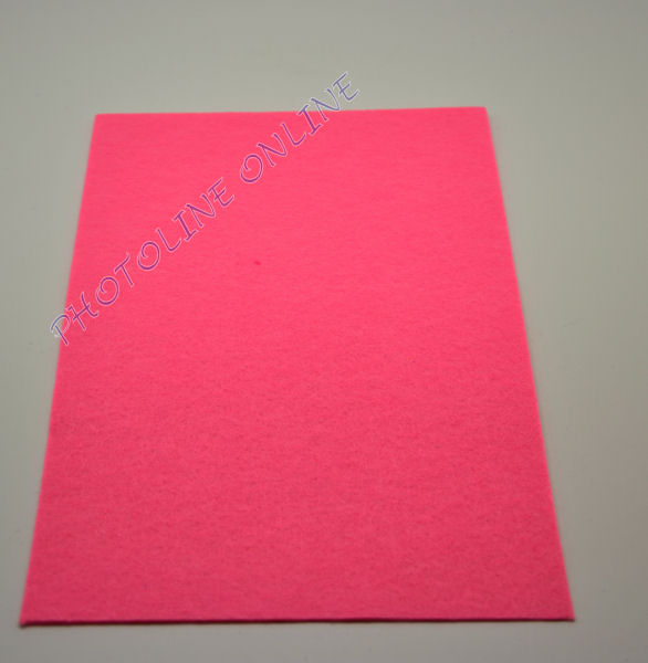 Filclap barkácsfilc A4, neon rózsaszín