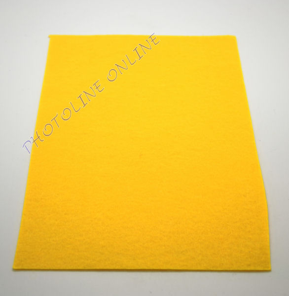 Filclap barkácsfilc A4, sárga, öntapadós