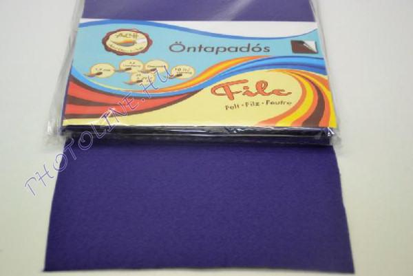 Filclap A4 öntapadós, sötét lila