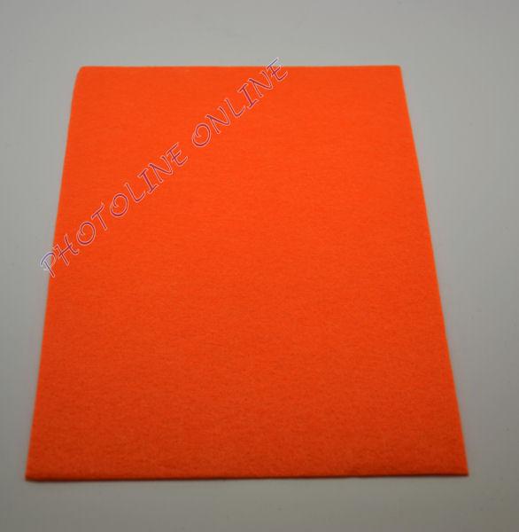 Filclap barkácsfilc A4, sötét narancs