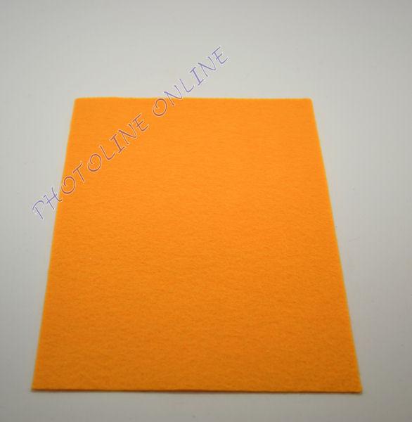 Filclap barkácsfilc A4, világos narancs