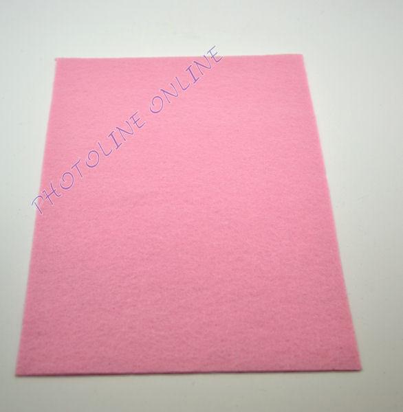 Filclap barkácsfilc A4, világos rózsaszín