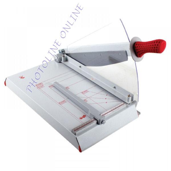 Karos papírvágógép, 37 cm/30 lap, manuális ívleszorítás