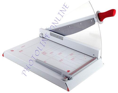 Karos papírvágógép, 45 cm/34 lap, automata ívleszorítás