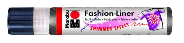 Fashion spray kontúrozó 25 ml, csillogó fekete