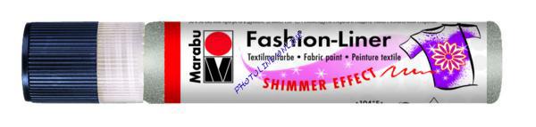 Fashion - Spray kontúrozó 25 ml, csillogó ezüst