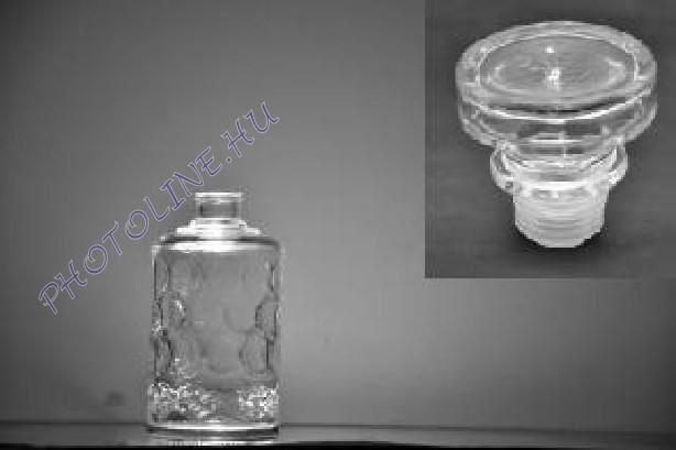 Üveg palack üveg kupakkal, 500ML
