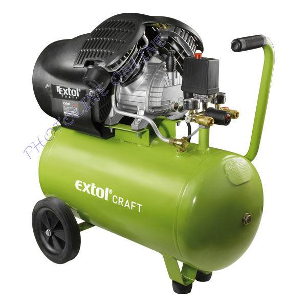 Olajos légkompresszor, 2200W, 50l tartály, 8 bar (418211)
