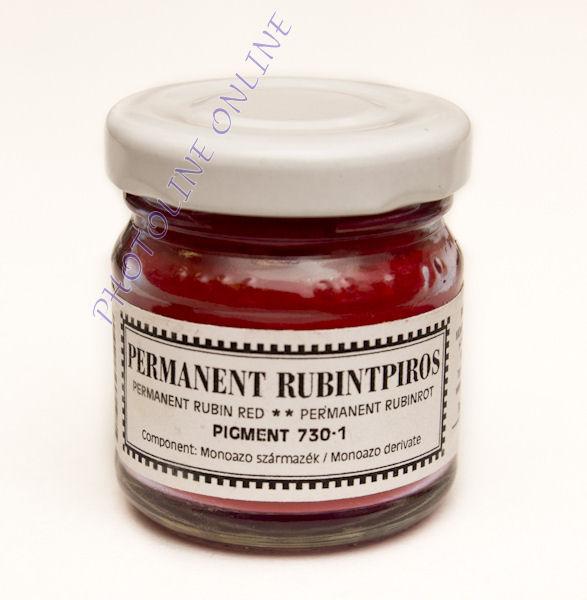 Pigmentpor PERMANENT RUBINTPIROS 30ml