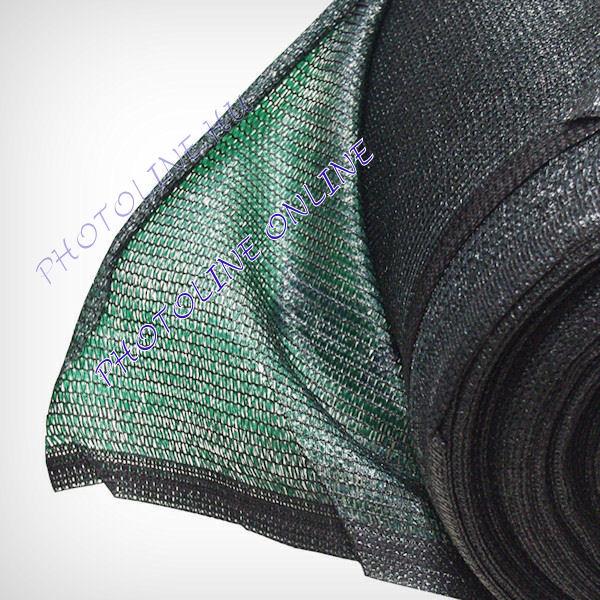 Kerítésháló zöld, 50% árnyékolás, 1.5 x 10 méter