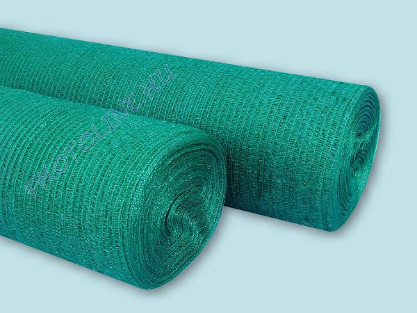 Árnyékoló háló, 3,6 m széles, 180 nm, zöld, 90gr/nm
