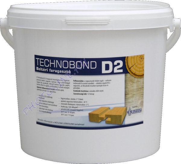 Faragasztó beltéri D2, 5 kg, vödörben