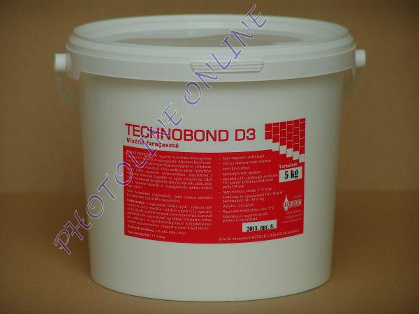 Vízálló faragasztó D3 3000, 5 kg, vödörben