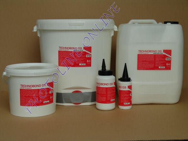 Vízálló faragasztó D3 3000, 130 kg, hordós