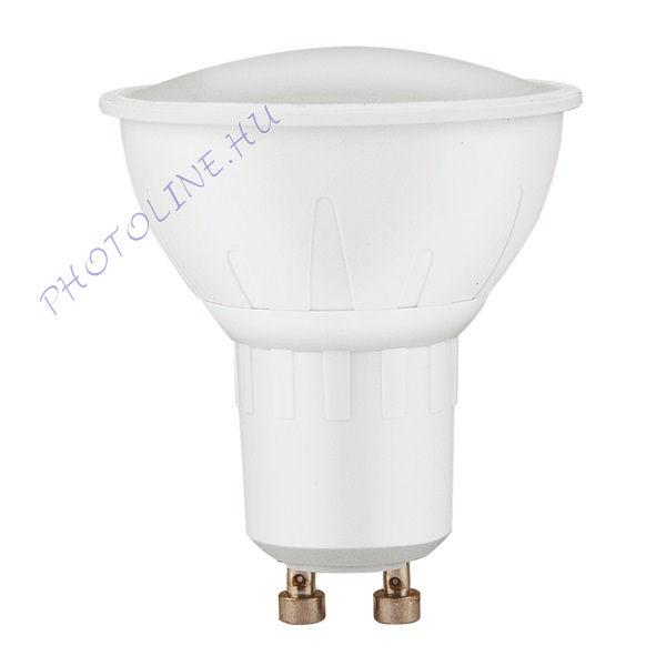LED izzó spot láma GU10, 6W (450 lumen) melegfehér, EXTOL (43033)