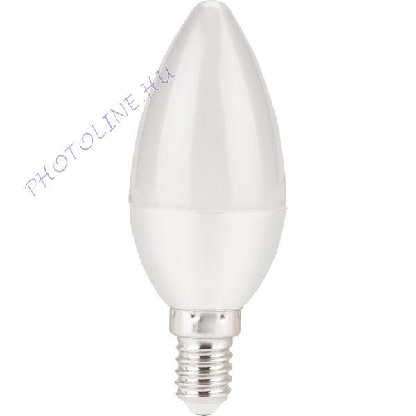 LED gyertyaizzó E14, 5W (410 lumen) melegfehér, EXTOL (43021)