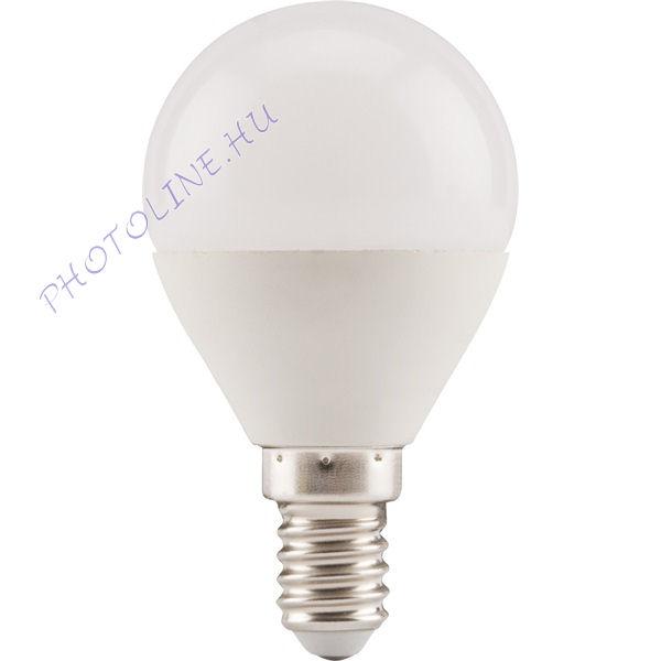 LED kisgömb izzó E14, 5W (410 lumen) melegfehér, EXTOL (43010)