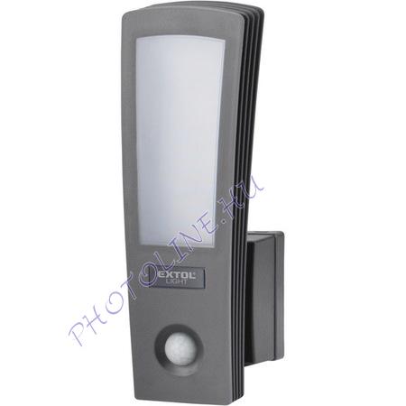 LED lámpa, falra szerelhető, mozgásérzékelővel, 15W, 700 lm, IP65, 230V/50Hz (43219)