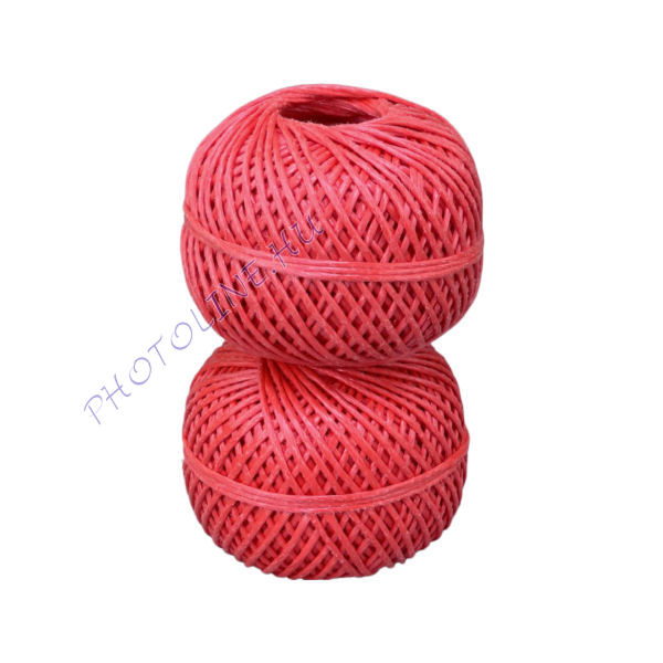 Kötöző zsineg piros, 2.5 mm, 40 m