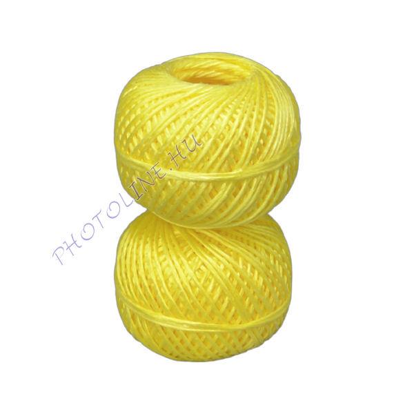 Kötöző zsineg sárga, 2.5 mm, 40 m