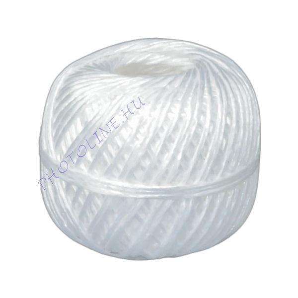 Kötöző zsineg, fehér, 120 m/guriga, 2 mm