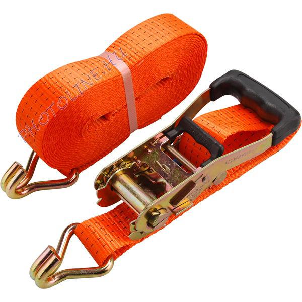 Rakományrögzítő gurtni, kampós, max. 4000kg 3m×50mm