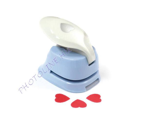 Formalyukasztó dekorgumihoz 16 mm, cakkozott szív