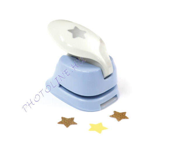 Formalyukasztó dekorgumihoz 16 mm, csillag
