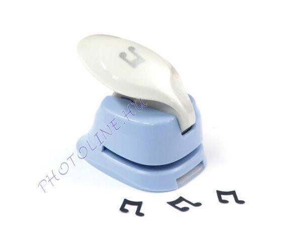 Formalyukasztó dekorgumihoz 16 mm, hangjegy
