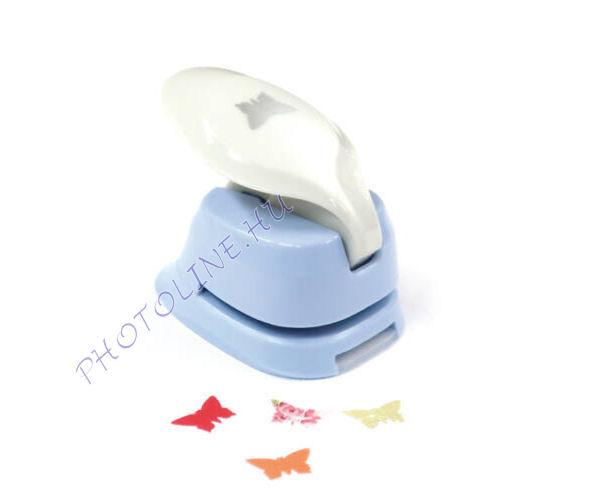 Formalyukasztó dekorgumihoz 16 mm, pillangó