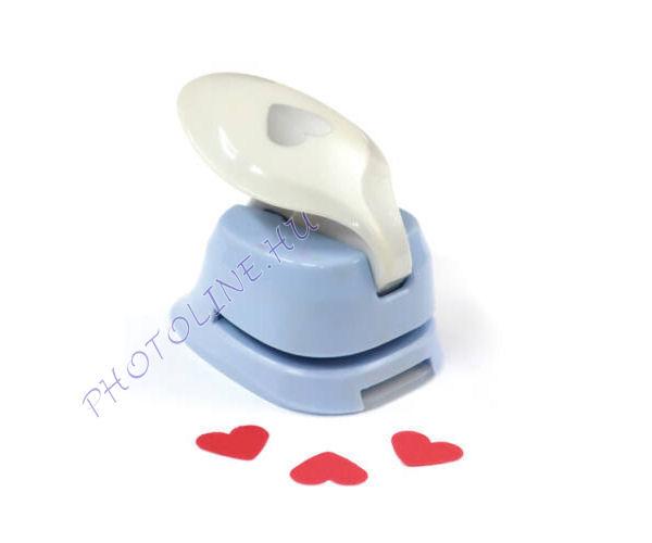Formalyukasztó dekorgumihoz 16 mm, szív