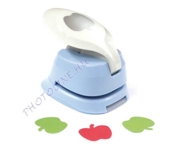 Formalyukasztó dekorgumihoz 25 mm, alma