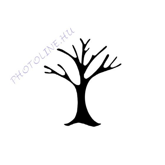 Formalyukasztó dekorgumihoz 25 mm, fa