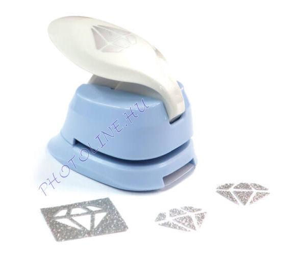 Formalyukasztó dekorgumihoz 25 mm, gyémánt