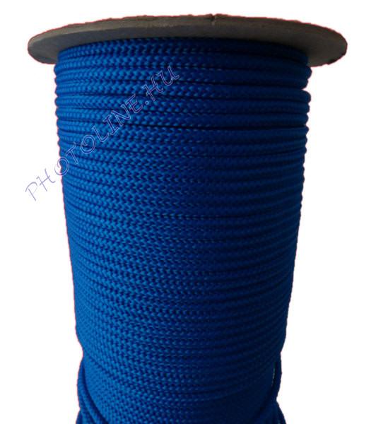 Kötött PP kötél, 5 mm, kék