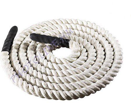 Cross-training kötel, 10 m kötélhossz, 45mm fehér