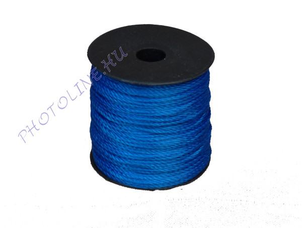 Sodrott zsinór, 1,5 mm, kék (100 m / tekercs)