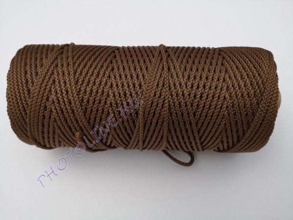 Kötöző zsinór, 3 mm erős, barna szín