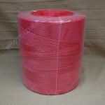 PP kötöző - bálamadzag 3 mm, piros bálázó madzag, 5 kg