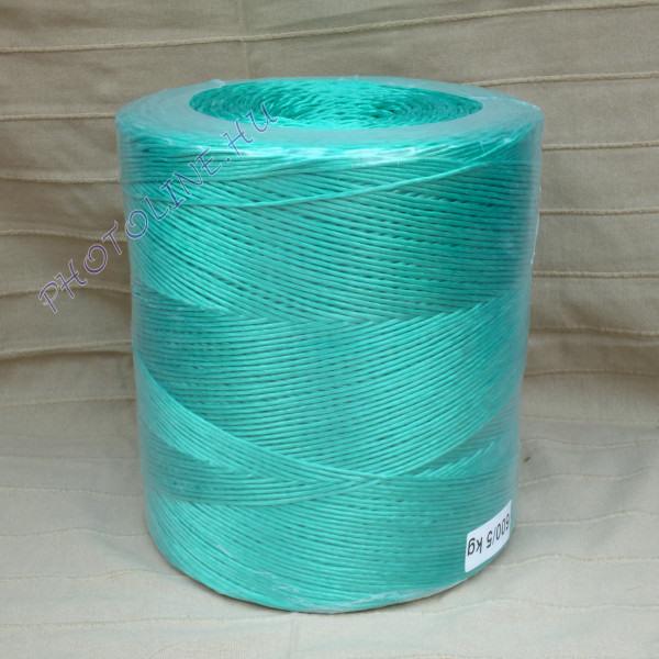 PP kötöző - bálamadzag 3 mm, zöld bálázó madzag, 5 kg