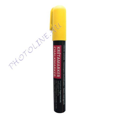 Folyékony krétamarker tábla marker 3-6 mm, sárga