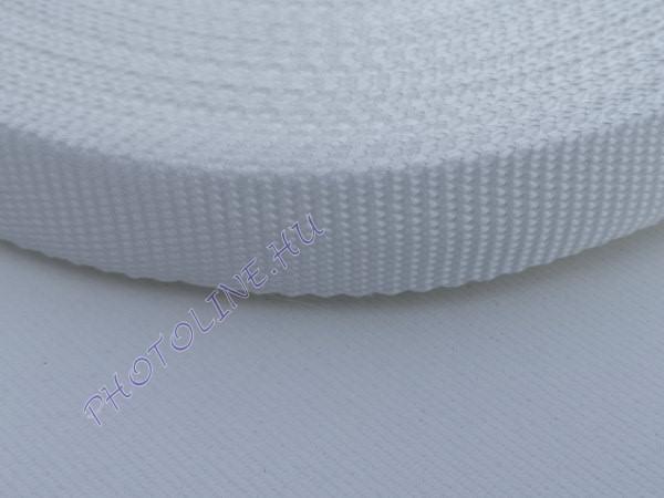 Ripsz szalag 22 mm, fehér