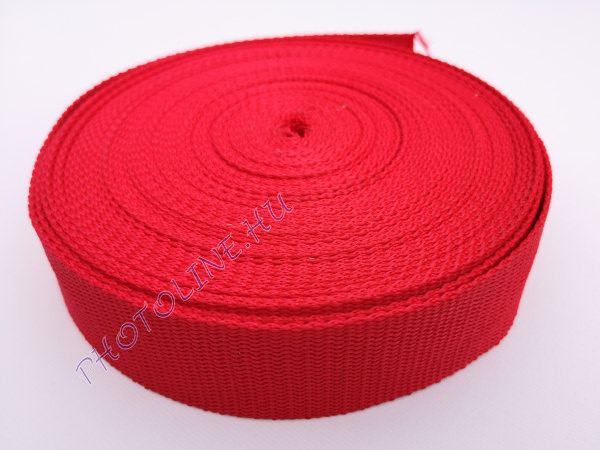 Heveder 38 mm, piros